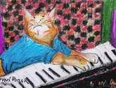 charlie schmidt's keyboard cat!