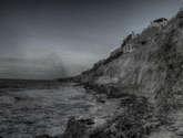mar gris.