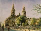 plaza de armas en santiago chile