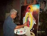 el maestro de la vírgenes e imágenes religiosas en venezuela ing. freddy g. peña.