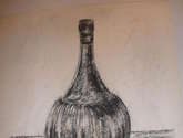 botellon con fruta