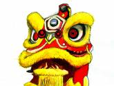 barongsai (lion dance)