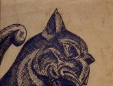 gargouille de n-d de paris : le rongeur