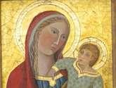 madonna con niño, autor original desconocido