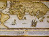 orbis universalis descriptio, 1527. técnica mixta.