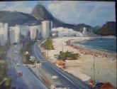 praia de copacabana - rio de janeiro - brasil