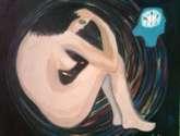 'el poder de la mente' oleo / lienzo 61 x 77 cm