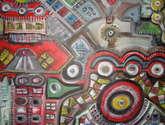 composición arquitectónica intergalácti