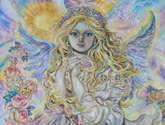 yumi sugai.archangel raphael.poster.