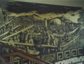 mural oro negro