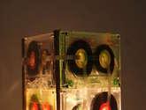lampara de cassettes
