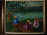 tres niñas