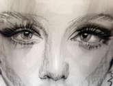 la modelo y sus ojos