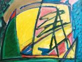 abstracto con rayas
