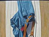 jean sobre toalla