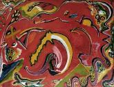 abstracto con bichos raros