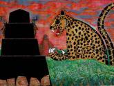 jaguar, simbolo de fuerzay poder maya