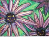 purple flowers # 2