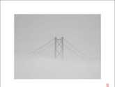 bridge through the mist