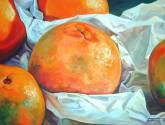 mandarinas y papel