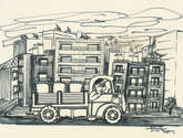 sketch / small lorry
