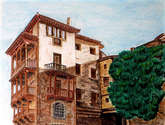 casas colgantes. cuenca