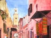 calle en marrakech