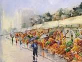 lluvia en el mercado de futos