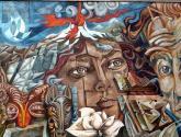 mural simon bolivar