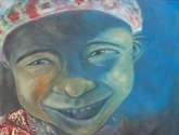 02112010. juan pablo, de cinco años, fue enterrado por su abuela. sus padres, emigraron a eu cuando