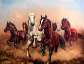 hurry up my horses