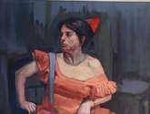 madre con traje de flamenca