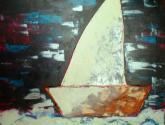 textura de barco de vela