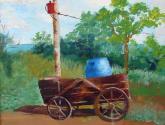 carro con barril