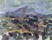 la montaña de sainte-victoire