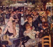 baile en el moulin de la galette, montmatre, 1876