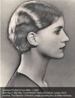 Retrato solarizado de Lee Miller, por Man Ray, hacia 1929, Penrose Collection