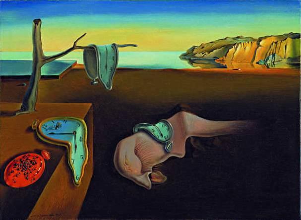 La persistencia de la memoria, por Dalí, 1931, MoMA, Nueva York