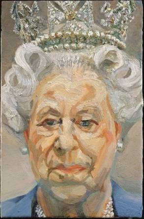 Queen Elizabeth II by Lucian Freud, 2001 The Royal Collection  Lucian Freud