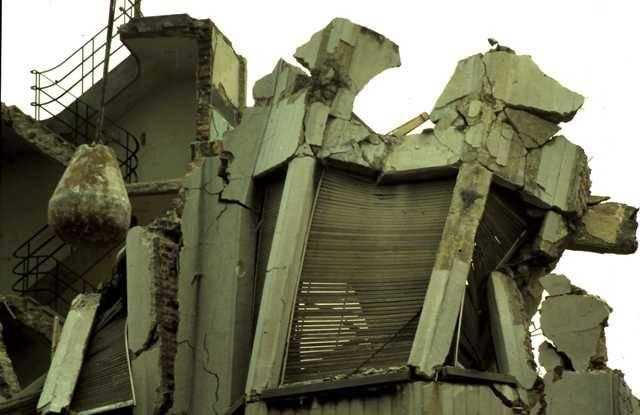 Demolició d'Office Baroque. 3 de Juny de 1980, Antwerpen