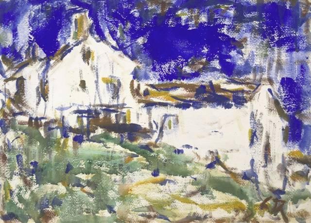 2. Christian Rohlfs Blaues Haus, um 1919 Albertina, Wien - Dauerleihgabe der Sammlung Werner