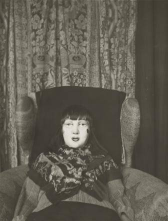Claude Cahun. Untitled. c. 1928. Gelatin silver print, 4 9/16 x 3 1/2″ (10 x 7.6 cm). The Museum of Modern Art, New York. Purchase and anonymous promised gift © 2012 Estate of Claude Cahun