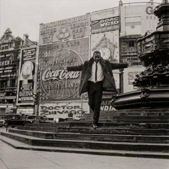 2.	James Barnor Mike Eghan at Piccadilly Circus, London 1967 © James Barnor / Magnum Photos
