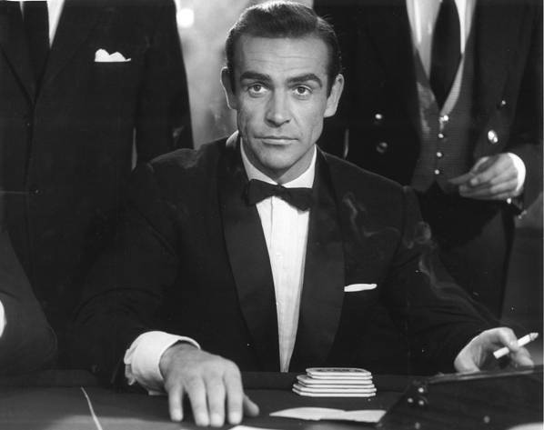 Dr. No. 1962. Great Britain. Directed by Terence Young. Pictured: Sean Connery. Image courtesy of The Museum of Modern Art.