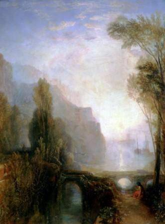 Joseph Mallord William Turner (1775˗1851) Banks of the Loire, 1829 Oil on canvas 71.3 x 53.3 cm © Worcester Art Museum, Worcester, Massachusetts Bequest of Theodore T and Mary G. Ellis 1940.59