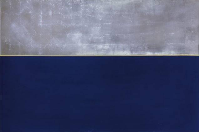 Gran horizonte azul, Anna-Eva Bergman, 1969