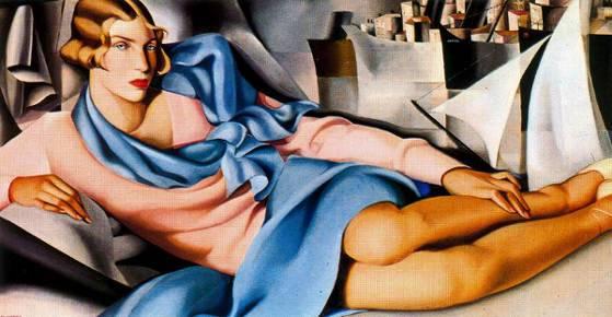 Retrato de Arlete Boucard, por Tamara de Lempicka, 1928