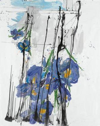 2.	Georg Baselitz Iris, 2009 Albertina, Vienna - The Batliner Collection
