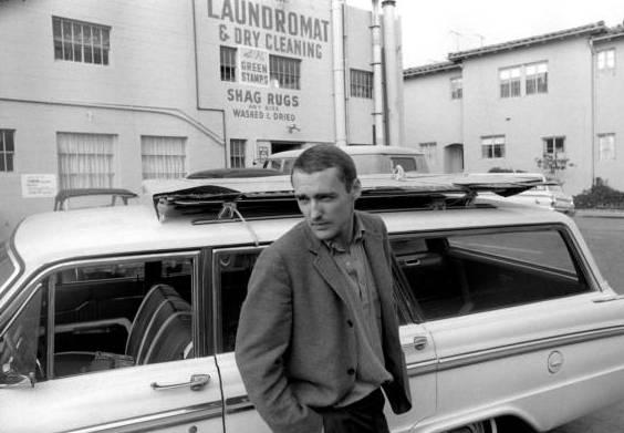 Autorretrato, por Dennis Hopper, 1963, Los Angeles.The Dennis Hopper Art Trust.