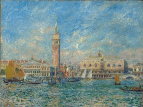 Pierre-Auguste Renoir. Palacio Ducal de Venecia,1881. Sterling and Francine Clark Art Institute.
